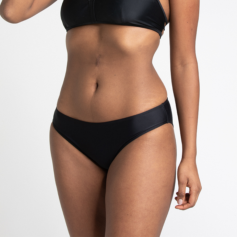 Sports bikini bottom black