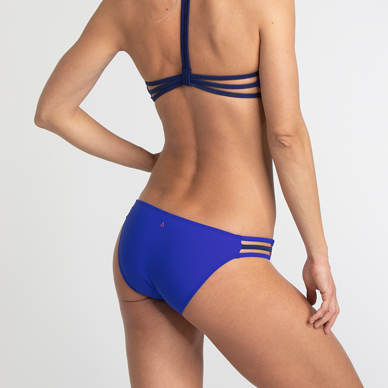 Sports bikini bottom royal blue