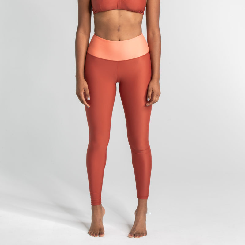 Leggings CHILL Lava Rostrot