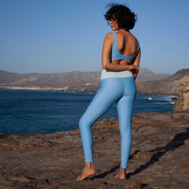 High Waist Leggings CHILL Breeze Hellblau
