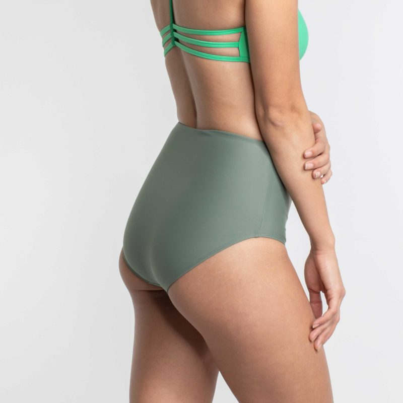 High Waist Bikini Hose PURE Shore Khaki