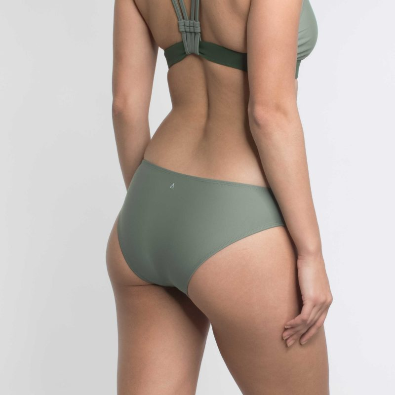 Regular Cut Bikini Hose Khaki