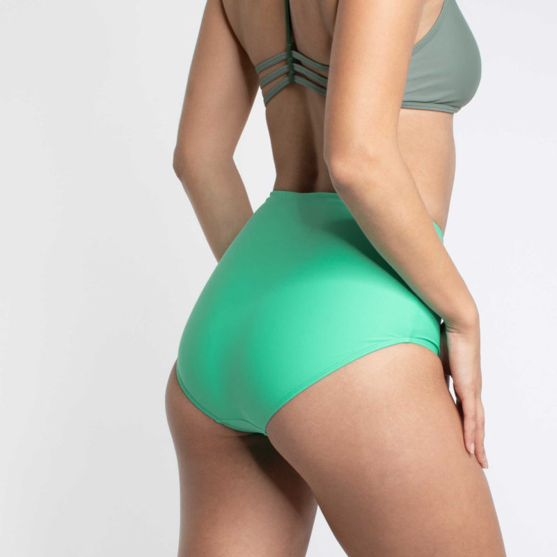 High Waist Bikini Hose PURE Wave Mint
