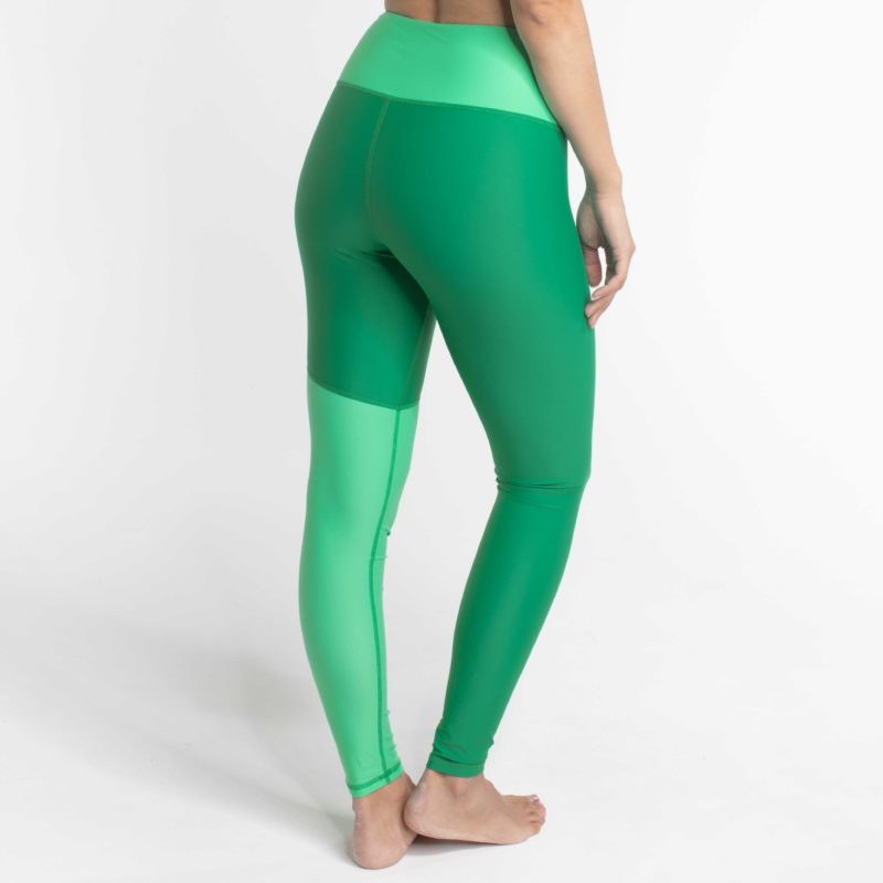 High Waist Leggings WILD Wave Mint Grün