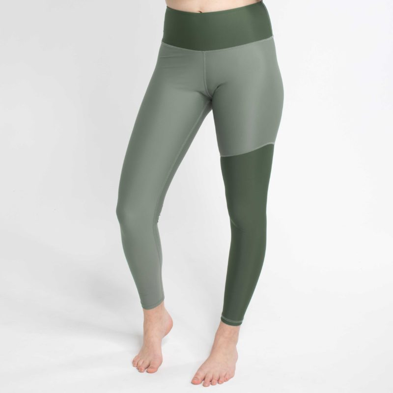 High Waist Leggings WILD Shore Khaki